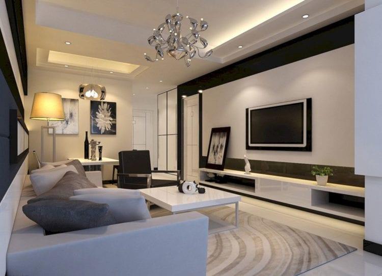 Планировка и зонирование гостиной
