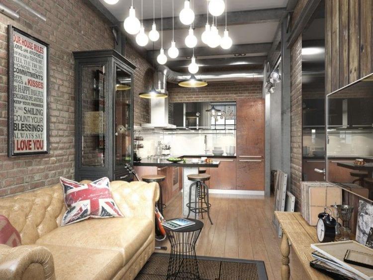Мебель: оптимальные варианты для лофта