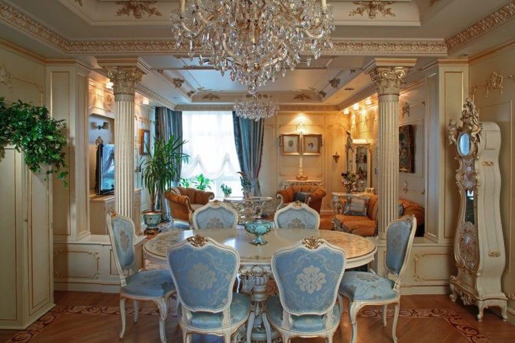 Стиль барокко - роскошь и уют