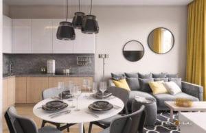 Правильный дизайн кухни-гостиной 16 кв. м. с зонированием