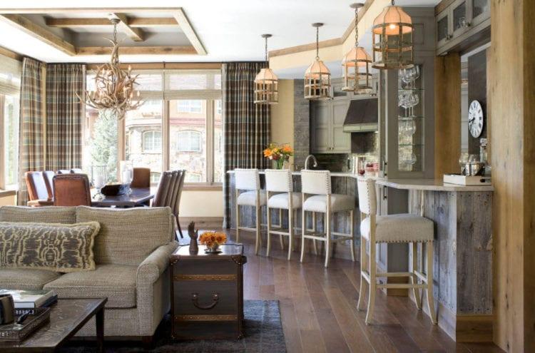 Выбор мебели в стиле кантри