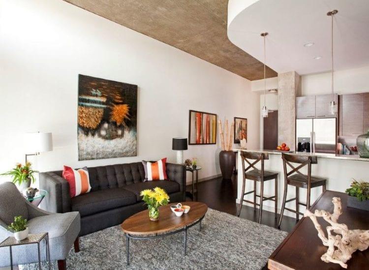Кухня-гостиная 16 квадратов