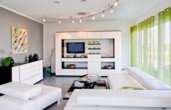 Интерьер гостиной в стиле хай-тек: эксклюзивная эстетика с высокими технологиями