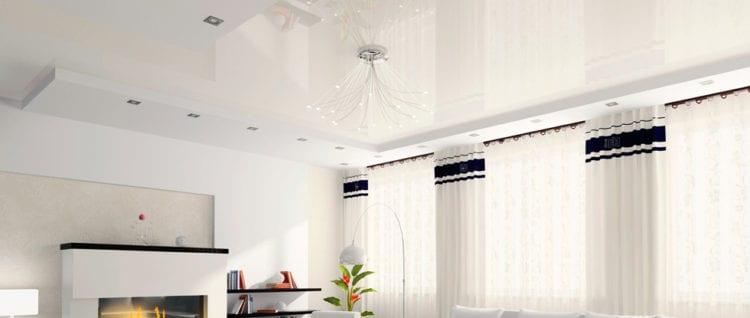 Выбор точечных светильников для расположения на натяжном потолке