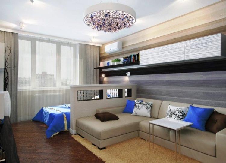 Комната 16 кв.м дизайн гостиная и спальня