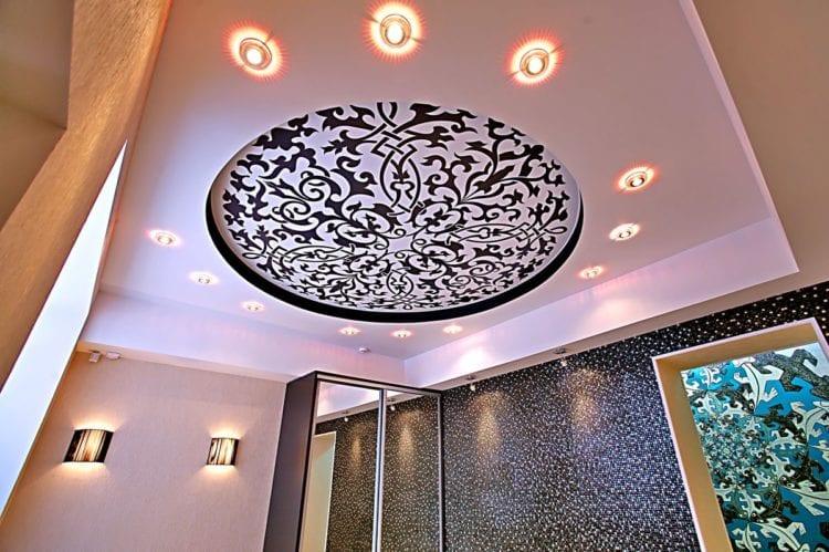 Расчет количества и правильное и красивое расположение светильников на натяжном потолке