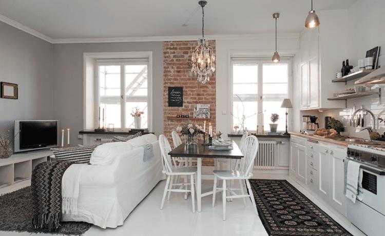 Особенности дизайна кухни-студии
