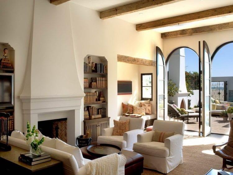Гостиная в средиземноморском стиле