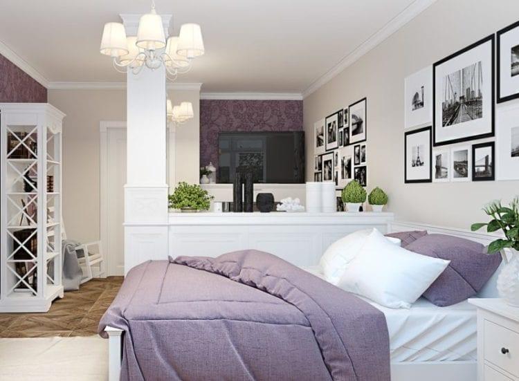 Спальня-гостиная в стиле Прованс