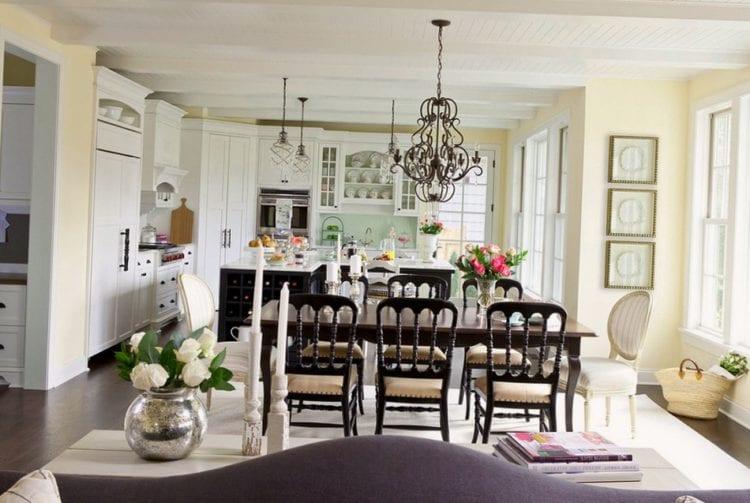 Декорирование кухни-гостиной в стиле прованс