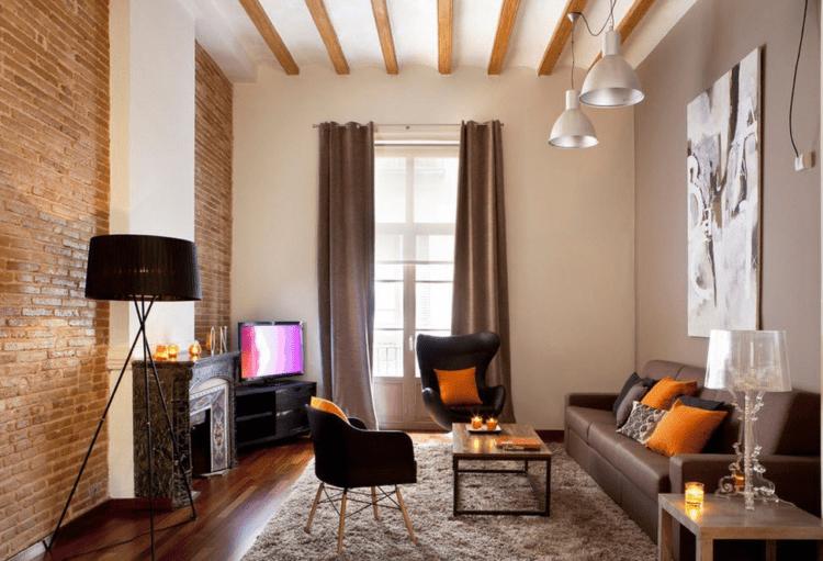 Дизайн гостиной в 18 кв. м.