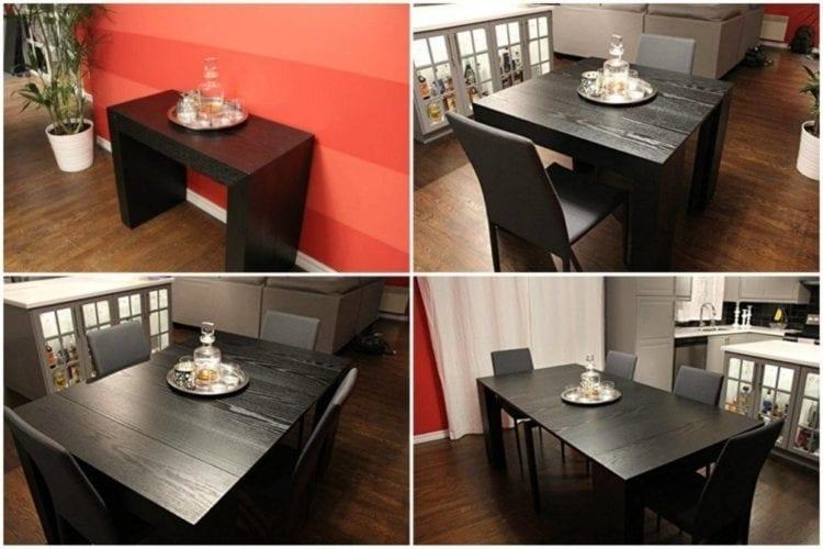 Выдвижной или откидной стол