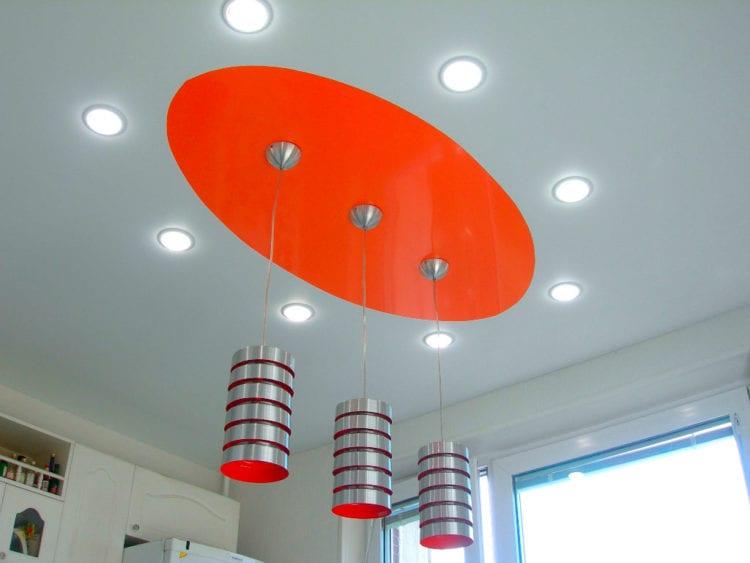Светильники под натяжной потолок