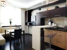 Кухня-гостиная площадью 12 кв. м. – максимальный комфорт на минимальном пространстве