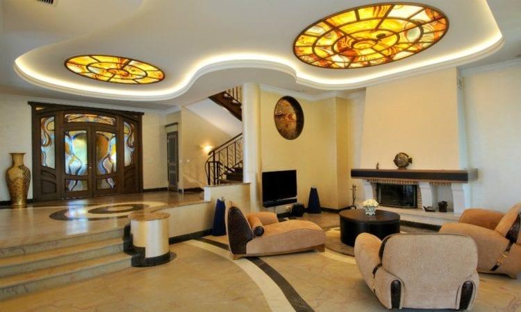 люстры для гостиной в стиле модерн