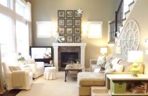 Гостиная и кухня-гостиная в средиземноморском стиле – солнечный интерьер с романтичным характером