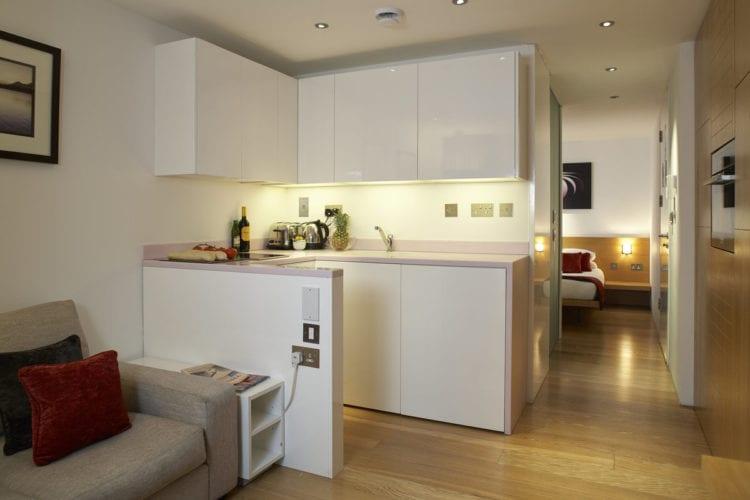 Дизайн интерьера кухни-гостиной в квартире-студии