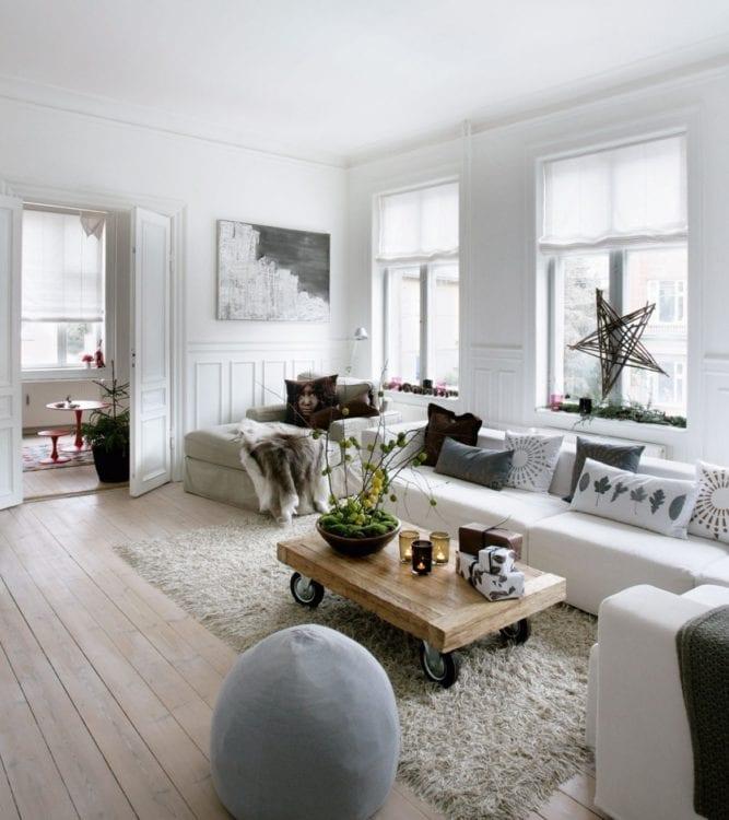 Дизайн интерьера в датском стиле