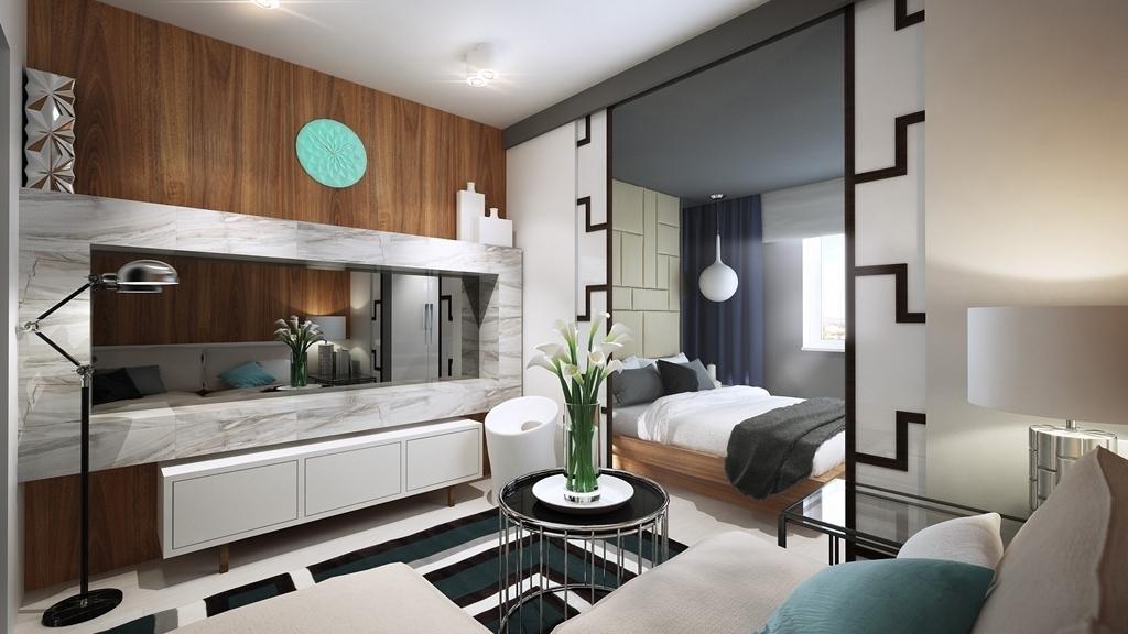 Зонирование и дизайн спальни-гостиной на 20 кв. метров: создаем уютный интерьер комнаты