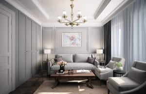 Гостиная в стиле современная классика: нюансы оформления и выбора мебели