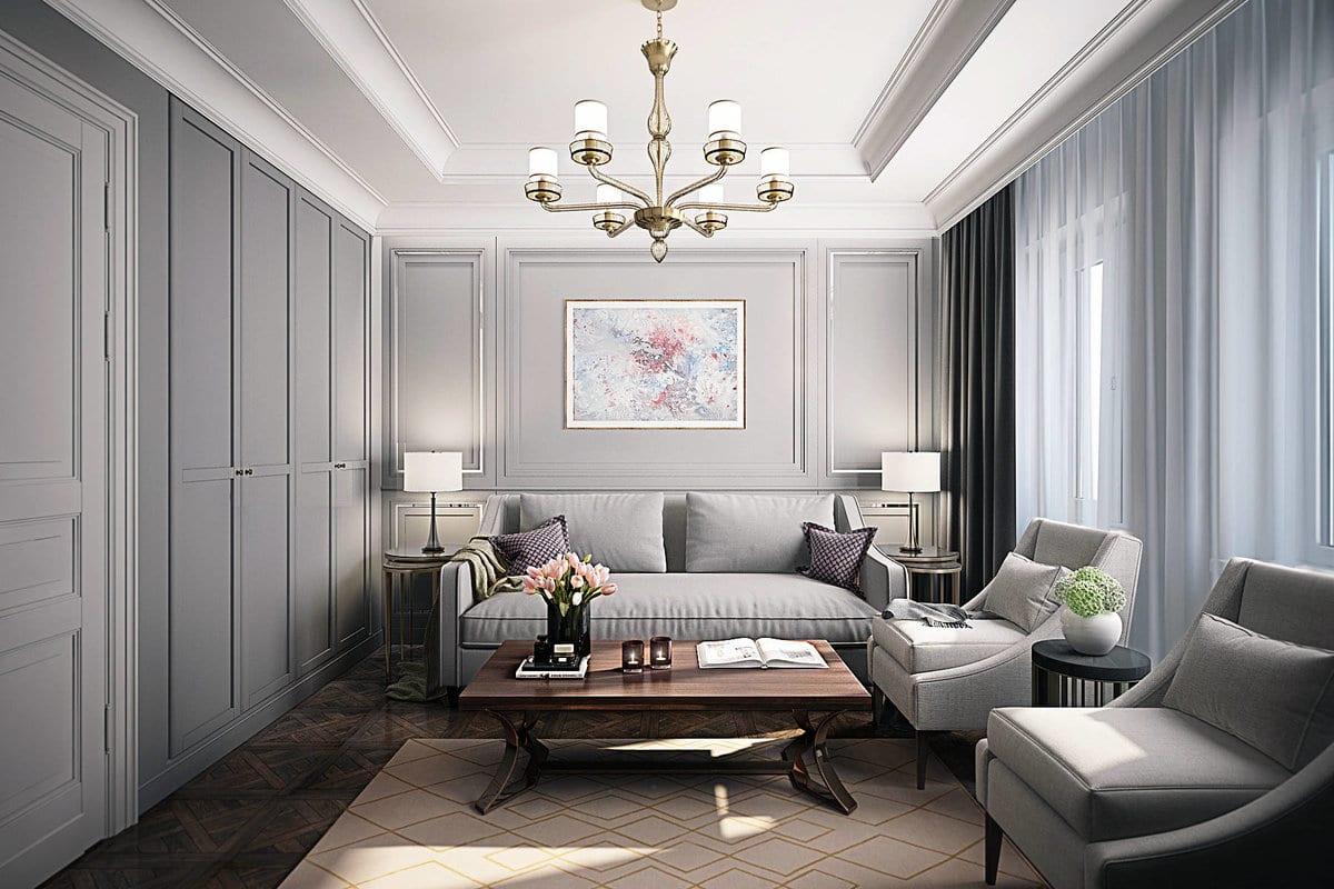 Гостиная в современном стиле изысканность и комфорт в интерьере