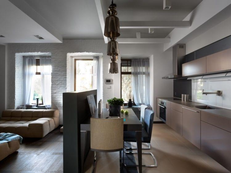 Кухня-гостиная в 40 кв. м