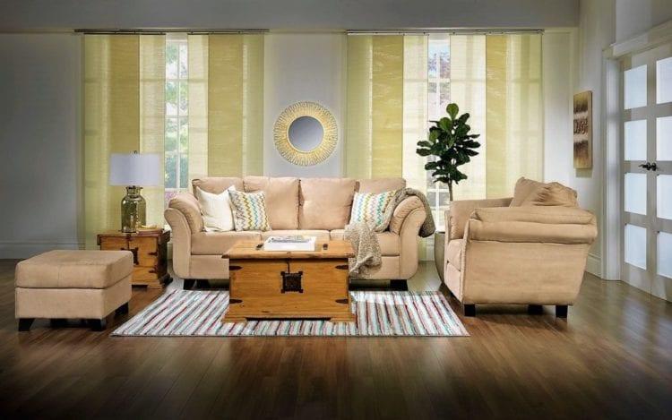 Бежевый диван: подбираем стиль