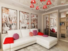 Дизайн спальни-гостиной 14 кв. м: как создать уют в комнате