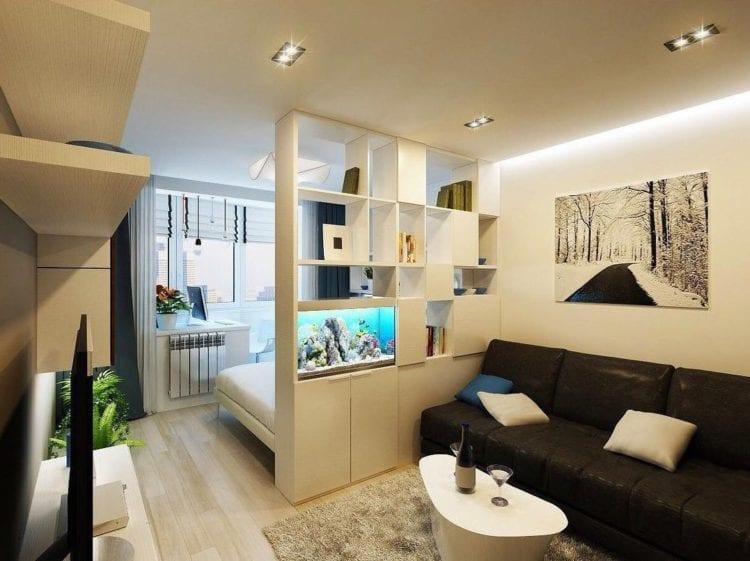 Дизайн интерьера гостиной в 12 кв. м