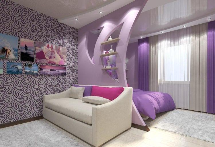 12 кв. м спальни и гостиной