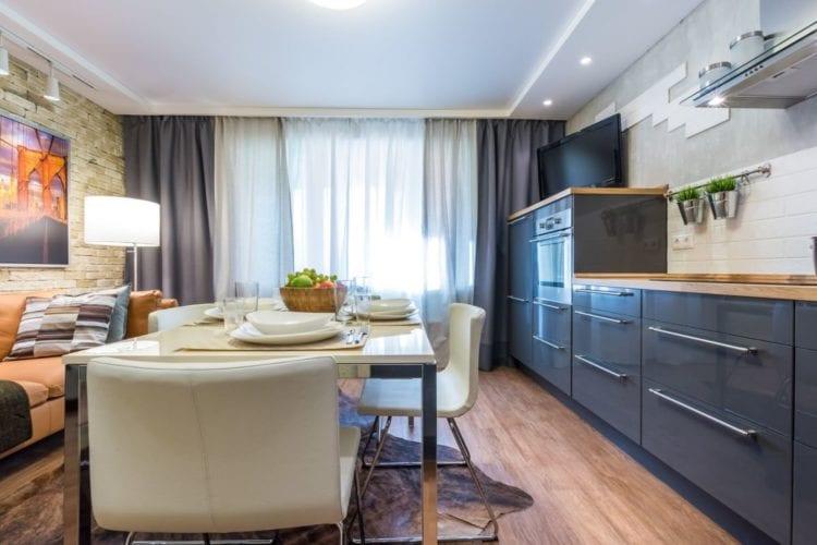 Дизайн гостиной площадью 12 кв. м