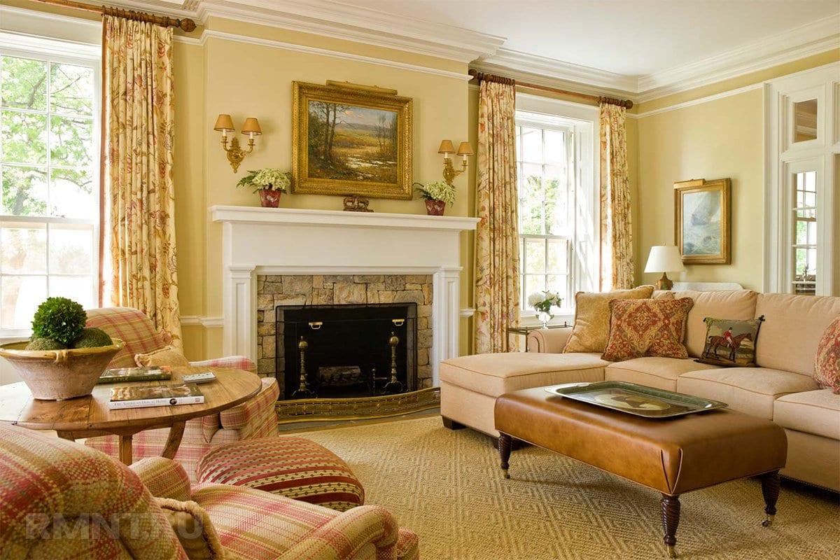 начнёте шторы для гостиной в английском стиле фото быстро, все как