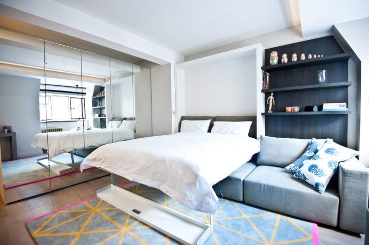 Гостиная и спальня: как создать уют на 24 метрах