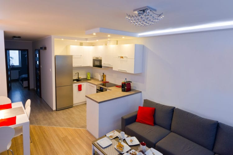 Способы зонирования пространства кухни-гостиной