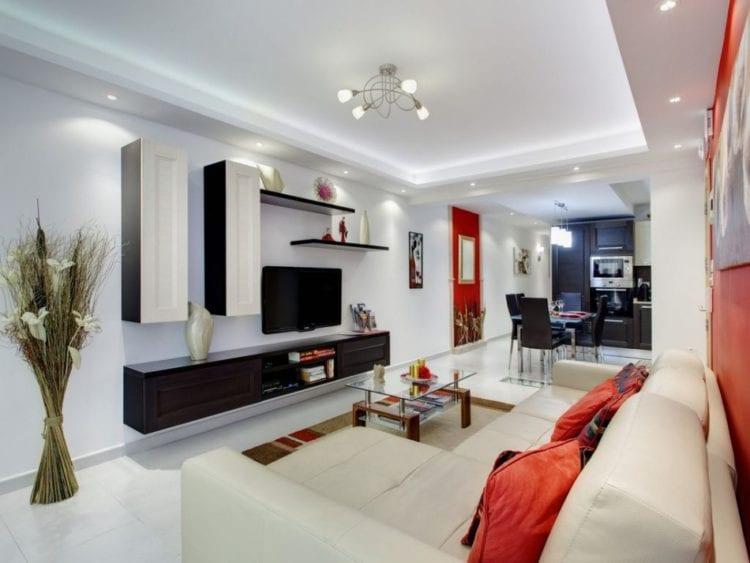 Планировка и зонирование кухни-гостиной 24 кв. м