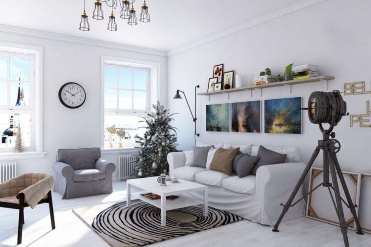 Стильные стулья для гостиной в скандинавском стиле