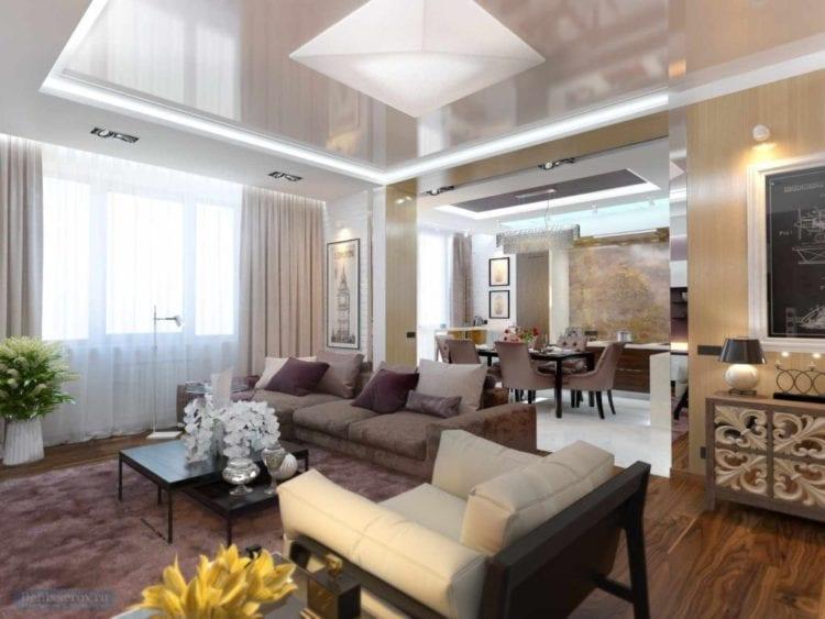 Правильное зонирование кухни-гостиной 25 кв.м.