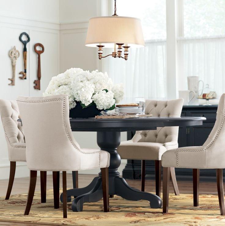 стулья с мягкими спинками для гостиной