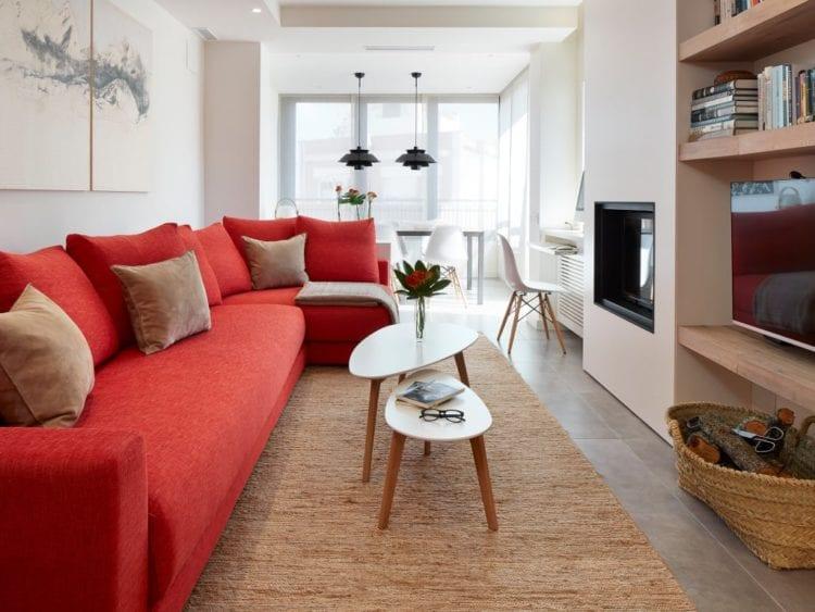 Дизайн гостиной 17 кв. м.