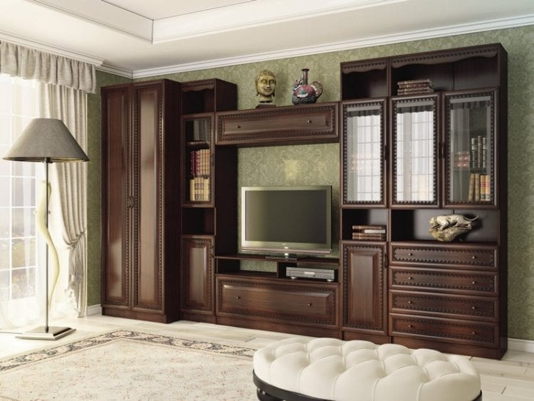 Мебель и горки для зала из МДФ