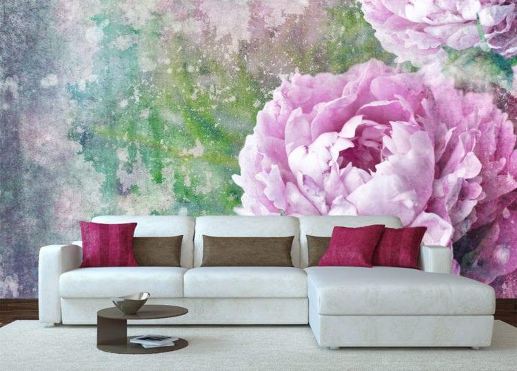 Фотообои с красивыми цветами