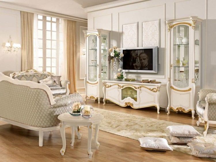 Гостиная мебель классика Италия