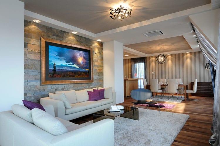 Нюансы освещения для гостиной в разных стилях