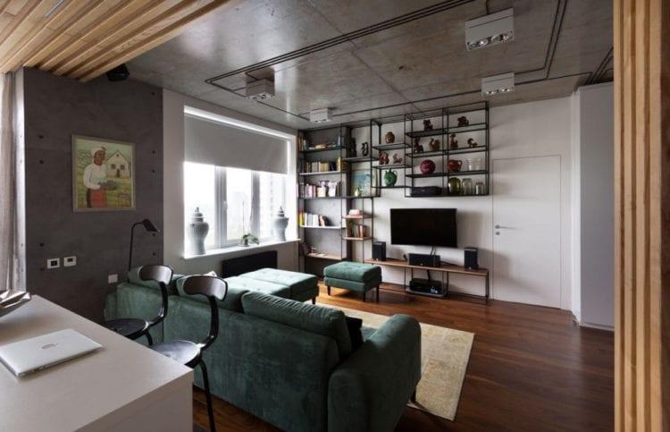 Дизайн гостиной и зала площадью 20 кв. м