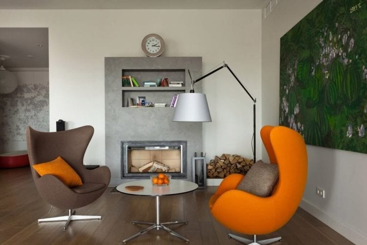 Современный стиль для кресла в гостиной