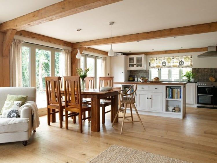 Правила зонирования кухни, гостиной и столовой