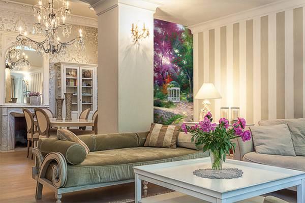 Цвет стен в гостиной