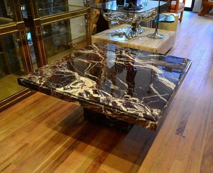 Журнальный столик под мрамор