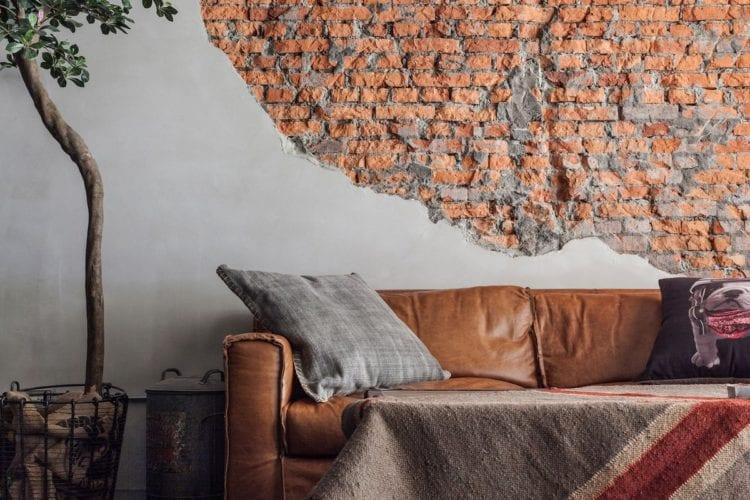 Декор кирпичной стены