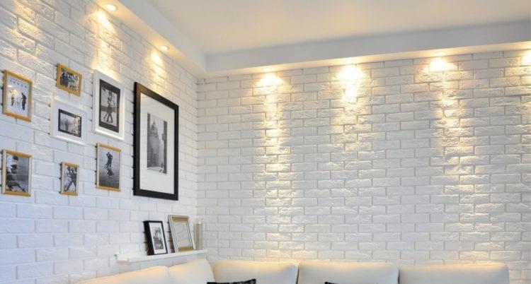 Декоративные панели под кирпич на стену